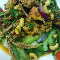 Soft Shell Crab Salad